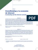 Crowdfunding y La Economía de Internet
