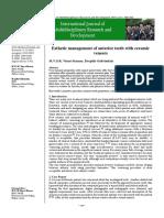 Esthetic Management of Anterior Teeth With Ceramic (1)