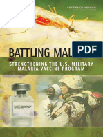 Committee on U.S. Military Malaria Vaccine Resear