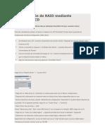 Configuración de RAID Mediante SmartStart CD
