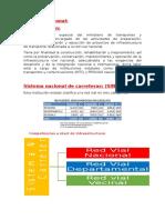 Informe de La Red Vial Nacional