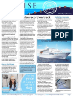 Cruise Weekly for Thu 24 Dec 2015 - Aussie cruise record on track, Crystal Esprit christening, Azamara debut, Fire on Cruise Europa, APT Sabre renewal and more