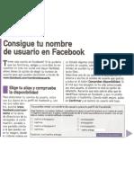Consigue Tu Nombre de Usuario en Facebook