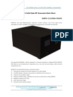HUKINGS Solid State RF Generator Data Sheet-HSRFG-13.56MHz-5000W