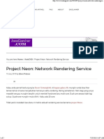 Project Neon_ Network Rendering Service