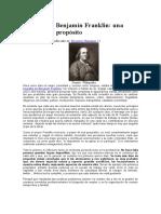 La Filosofía Benjamín Franklin