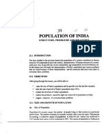 L-39 Population of India ( Structure, Problems and Measures )