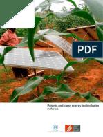 Patents Clean Energy Technologies in Africa En