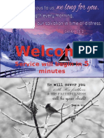 Worship Winter Countdown 12