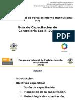 25-Mar-2011 Guia de Capacitacion-PIFI Metodologia