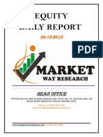 Equity Report 24/12/2015 by Market Way Research
