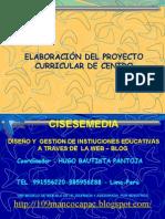 Proyecto Curricular Centro Elaboración  PCI