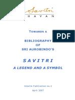 Savitri Bibliography 2007