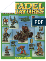 Citadel Miniatures Catalog 1992 Part 3 Green - Enhanced