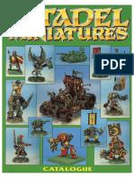 Citadel Miniatures Catalog 1992 Part 3 Green - Enhanced