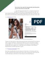 Hoa Hậu Colombia Được Mời Đóng Phim Sex Giá Triệu USD