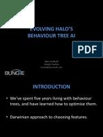 Halo Behaviour Tree AI