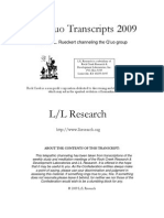 The Q'uo Transcripts 2009 - LL Research