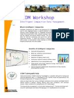 FHWA ICDM Workshop - Intelligent Compaction Data Management