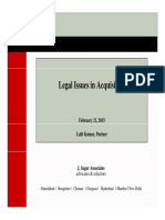 M&a Legal Issues PPT