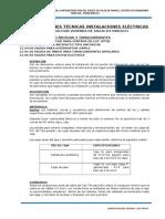 03 Especificaciones Electricas Vivendas Pariacc