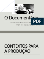Aula - O Documentário