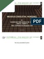 MUSKULOSKELETAL supplemental slides