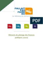 Elments de Pilotage Des Finances Publiques(1)