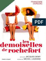 Les Demoiselles de Rochefort - Songbook (Incomplete)