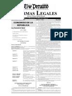 Ley 26842 Ley General de salud