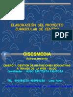 PROYECTO CURRICULAR DL CENTRO- ELABORACION DE PCI-HUGO BAUTISTA  SUBDIRECTOR DE I.E Nº 109 INCA MANCO CAPAC  UGEL 05 -SJL