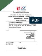 Ingeniería de Sistemas - Practicas Preprofesionales i