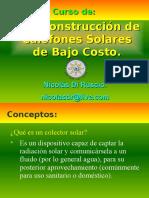 Construccion de Termas Solares Peru
