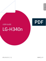 LG H340n mobile phone users manual