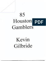1985 Houston Gamblers Offense by Coach Gilbride