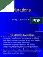 Mutation and Regulation