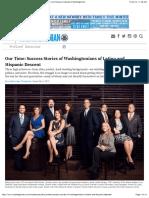 Success Stories of Latino Washingtonians