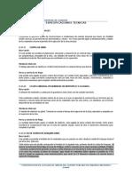 ESPECIFICACIONES TECNICAS(ESTRUCTURAS Y ARQUITECTURA), falta editar