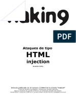 Ataques de Tipo HTML Injection