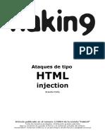 Ataques de Tipo HTML Injection