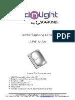 Lednlight en Street Lighting Datasheet