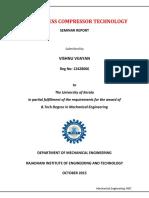 Frictionless Compressor Technology Seminar Report