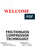Frictionless Compressor Technology Presentation