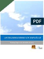 ANTIGERMANISMO EN ESPAÑA II