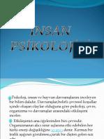 İnsan Psikolojisi - Mesleki Gelişim Dersi Konu Anlatımı Sunusu