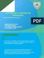 Centroide y Centro de Gravedad