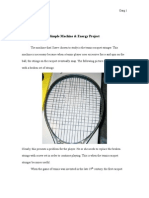 Simple Machines - Racket Stringer