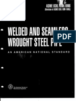 Welded and Seamless Pipes