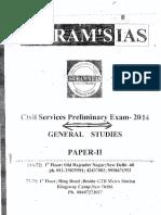 Sriram_s g s Preliminary Paper II
