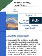 Organizational Transformations